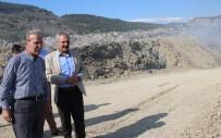 KıZıLCAÖREN - Şahin, Karabük'te Eyleme Neden Olan Çöplük Alana Gitti