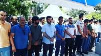 GIYABİ CENAZE NAMAZI - Suriyeli Anne Ve 2 Çocuğu İçin Aydın'da Gıyabi Cenaze Namazı