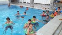 GÖKTEPE - Yaz Kur'an Kursu Öğrencilerinin Termal Havuz Keyfi