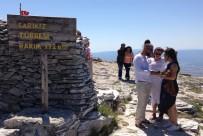ZEYTINLI - 1726 metre yükseklikteki Kazdağı'nda nikah yaptılar