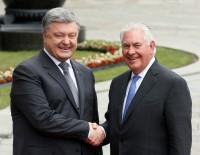 KIEV - ABD Dışişleri Bakanı Tillerson, Poroşenko İle Görüştü