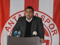 RıZA ÇALıMBAY - Antalyaspor'da Ever Banega Son Anda Olmadı