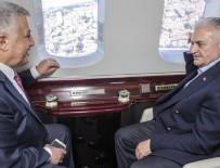 MADEN OCAKLARI - Başbakan Binali Yıldırım İstanbul'da devam eden projeleri havadan inceledi