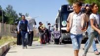 ÖZGÜR SURİYE ORDUSU - Bayram İçin Ülkelerine Giden 44 Bin Suriyeli Türkiye'ye Döndü