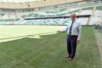 MUSTAFA ALTıN - Büyükşehir Stadyumunun Zemininde Geçirgenlik 8 Kat Artıyor