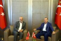 ARNAVUTLUK - Erdoğan Arnavutlu Başbakanı Rama'yı Kabul Etti