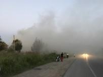 KARBONMONOKSİT - Hendek'te Fabrikada Çıkan Yangın 2 Saatte Söndürüldü