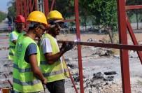 KENTSEL DÖNÜŞÜM PROJESI - Kepez- Santral'de Şantiyeler Kuruluyor