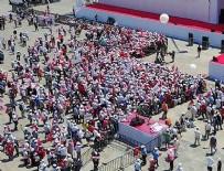 CHP - Adalet mitingi için alana girişler başladı