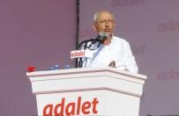 SELVİ KILIÇDAROĞLU - Kılıçdaroğlu Yürüyüşünü Maddelik 'Adalet Çağrısı' Metni İle Sonlandırdı