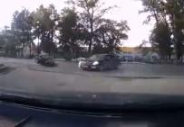NOVOSIBIRSK - Motosiklet Sürücüsü Hız Kurbanı Oldu
