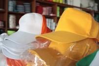 TAŞKıRAN - Sıcak Şapkacılara Yaradı