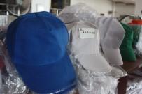 TAŞKıRAN - Sıcakla Birlikte Şapkacılar Da Rekor Kırdı