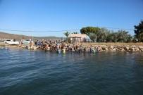 MURAT SEFA DEMİRYÜREK - Sporcular, Urla Aquatlon Finalinde Kıyasıya Yarıştı