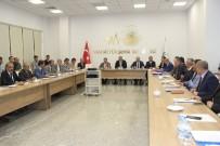MAHALLİ İDARELER - Vali Ve Büyükşehir Başkan Vekili Zorluoğlu, Daire Başkanları İle Bir Araya Geldi