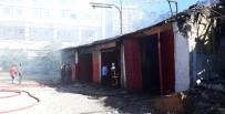 ANKARA ADLİYESİ - Başkent'te Sanayi Sitesinde Korkutan Yangın