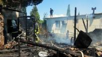 BITEZ - Bodrum'da Ev Yangını