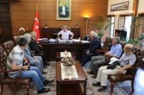 ZONGULDAK VALİSİ - Emeklilerden Vali Çınar'a Ziyaret