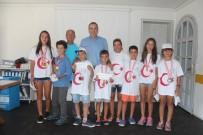 KIRLANGIÇ - Genç Yelkenciler Başkan Gençer'i Ziyaret Etti