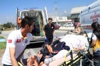 Hasta Taşıyan Ambulans Kaza Yaptı Açıklaması 1 Yaralı