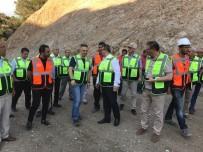 DEĞIRMENDERE - İhsaniye Baraj İnşası Sürüyor