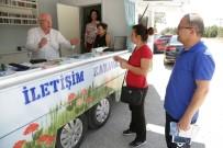 GEZİCİ KÜTÜPHANE - İletişim Karavanı Mahalle Mahalle Gezerek Sorun Dinleyecek