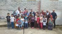 YAZ KURAN KURSU - Kaymakam Öztürk, Köy Ziyaretlerini Sürdürüyor