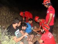 GIDA TAKVİYESİ - Likya Yolu'nda Kaybolan 3 Üniversiteli Kurtarıldı