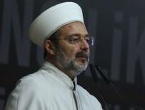 MEHMET GÖRMEZ - Mehmet Görmez'den veda