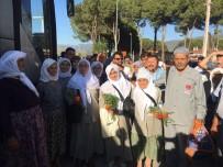 HACI KAFİLESİ - Milaslı Hacı Adayları Duayla Uğurlandı