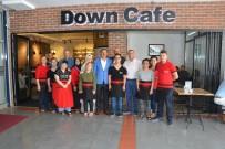 BILAL ERDOĞAN - Milletvekili Yılmaz Down Kafe'yi Ziyaret Etti