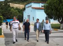 SAPANCA GÖLÜ - SASKİ Genel Müdürü Keleş, MÜSİAD'ı SASKİ Göl Tesislerinde Ağırladı