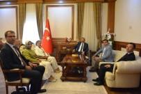 MİHRİMAH BELMA SATIR - TBMM Dilekçe Komisyon Başkanı Satır Vali Kaban'ı Ziyaret Etti