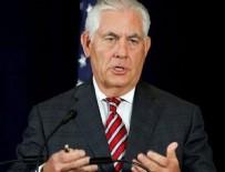 EL KAIDE - Tillerson: Suriye'nin geleceğinde Esad'ın yeri yok
