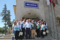 YABANCı DIL - Türkçe Yaz Okuluna Katılan Öğrenciler Nevşehir Belediyesini Ziyaret Etti