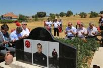 Uşak'ta Şehit Polis, Şehadetinin 1. Yıl Dönümünde Anıldı