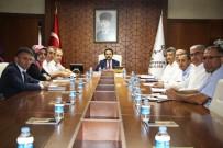 Vali Aktaş İl Ve İlçe Nüfus Müdürleri İle Toplantı Yaptı