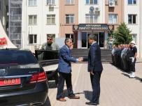 NACI KALKANCı - Vali Kalkancı'dan Emniyet Müdürlüğüne Ziyaret