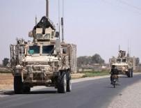 YPG - YPG'li teröristlere giden konvoy fotoğraflandı