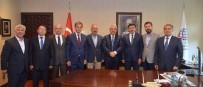 AK PARTİ İLÇE BAŞKANI - Bakan Ahmet Arslan'dan Termal Yolun Yapılmasını İstediler