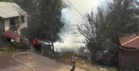 AHŞAP EV - Bartın'da İki Katlı Ahşap Ev Yangında Kül Oldu