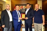 GÜMÜŞDERE - Batı Trakyalı Türk Belediye Başkanı, Mustafa Ak'ı Ziyaret Etti