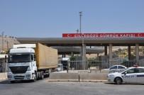 REYHANLI - Cilvegözü Gümrük Kapısı'ndan Geçişlere Kısıtlama