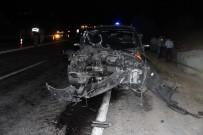 Cip Traktöre Çarptı Açıklaması 1 Ölü, 1 Yaralı