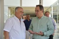 ÇANAKKALE DESTANI - Giresun Belediye Başkası Aksu'dan Kardeş Şehir Çanakkale'nin Belediye Başkanı Gökhan'a Ziyaret