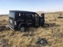 Hafif Ticari Araç Kaza Yaptı Açıklaması 1 Yaralı