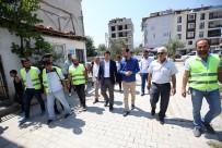 İlbade Mahallesi'nde Üst Yapı Çalışmaları Başladı