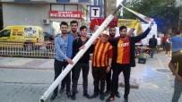 BOLUSPOR - İnönü Stadı'nın Sökülen Direkleri Yenilenecek