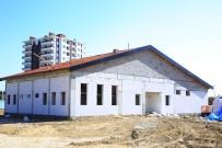 OSMAN GAZI - Karaman Belediyesinin Spor Ve Kültür Merkezleri Çalışmaları Sürüyor