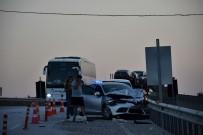 ZİNCİRLEME KAZA - Kastamonu'da 3 Araçlı Trafik Kazası Meydana Geldi